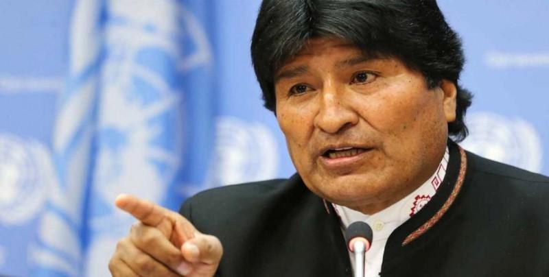 """Evo Morales repudia """"temeraria declaración"""" de Pompeo sobre Venezuela"""
