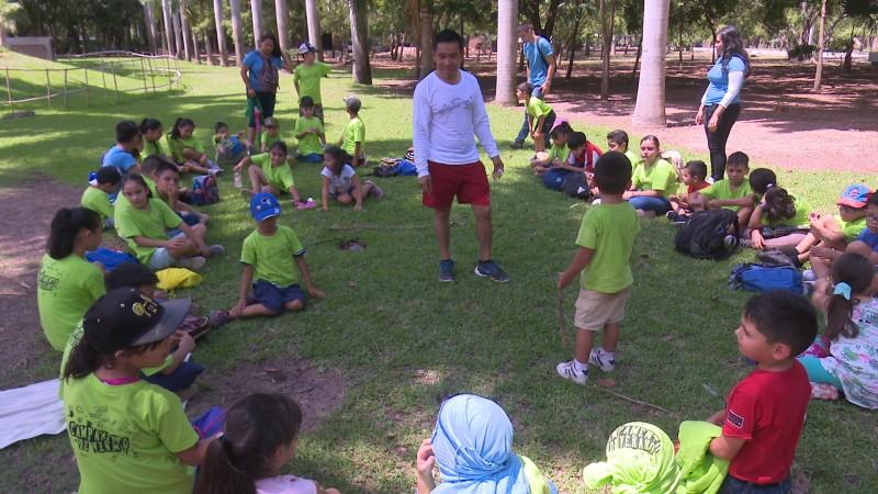 Inicia campamento de verano en el Parque Sinaloa