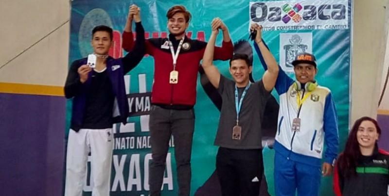 Jesús Moreno consiguió el pase al Panamericano en Brasil