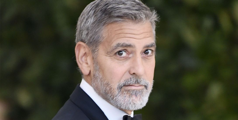 George Clooney sufre aparatoso accidente