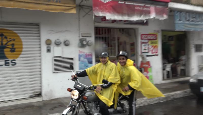 ¡A protegerse de la lluvia!