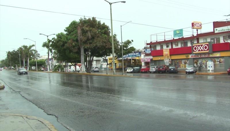 Sin incidentes por lluvias en la ciudad, reporta PC