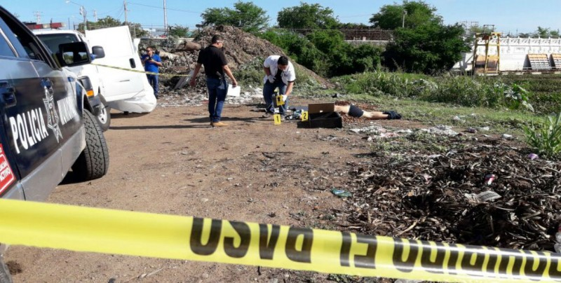 Localizan a hombre ejecutado en presa derivadora en Culiacán