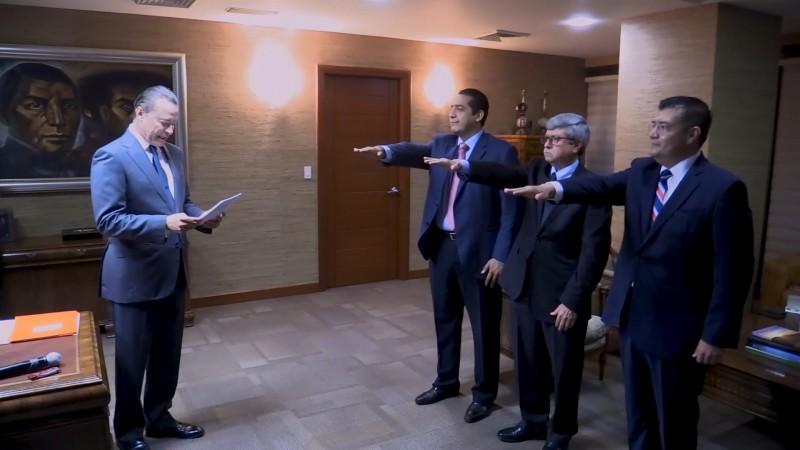 Empresarios dan voto de confianza a nuevos secretarios