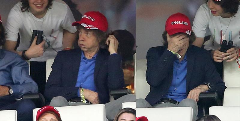 ¿La Madición de Mick Jagger hace perder a Inglaterra?