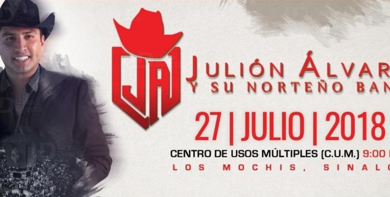 Todo listo para el próximo concierto de Julión Álvarez