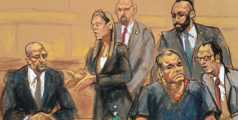 """""""El Chapo"""" Guzmán pide posponer 5 meses su juicio pendiente en Nuerva York"""