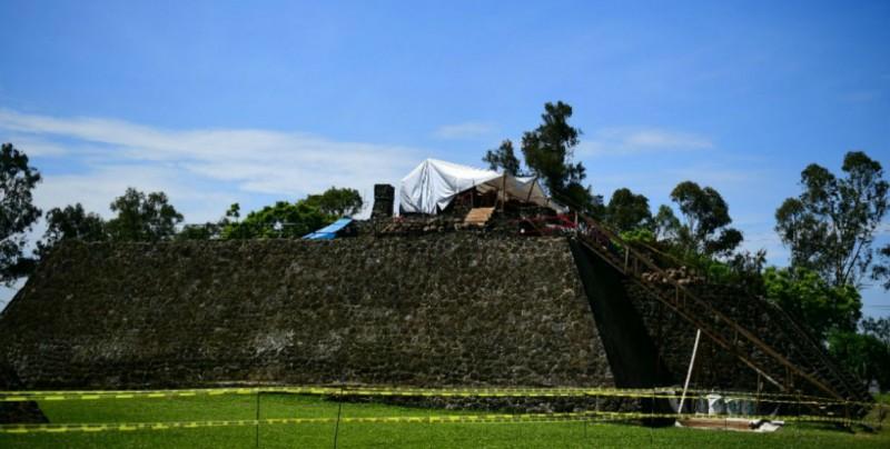 Descubren templo dedicado a Tláloc en la Gran Pirámide en Teopanzolco