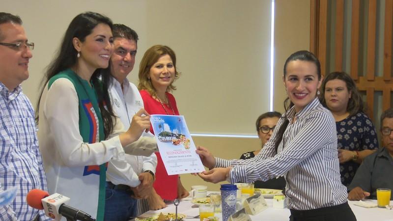 Reconocen a empresas que participaron en el sabor de Los Mochis