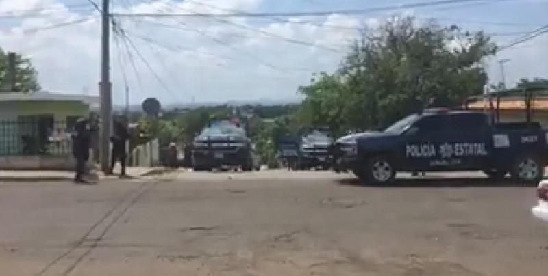 Se registra enfrentamiento entre civiles armados y ministeriales