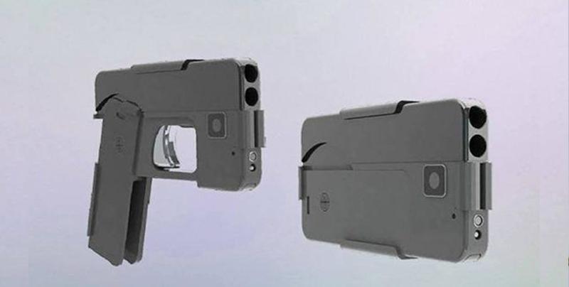 """""""Teléfonos-celulares-pistola"""" llegan a Estados Unidos"""