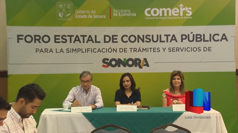 Facilitarán la apertura de empresas en Sonora