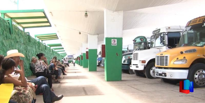 En Obregón disminuyó la demanda de pasaje