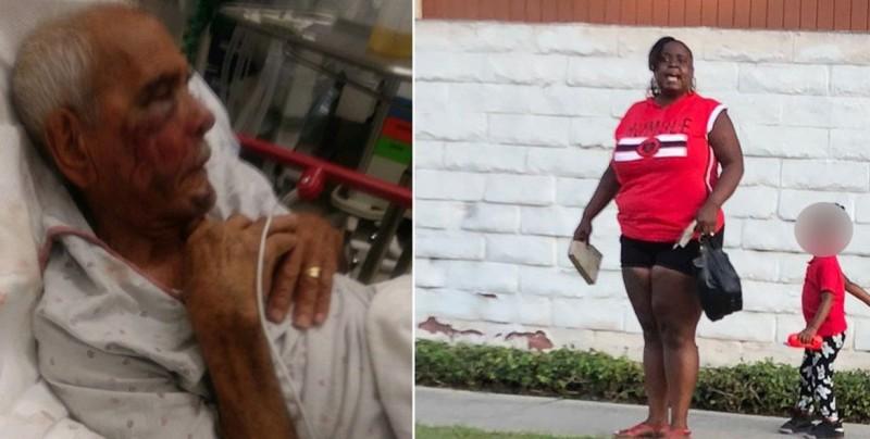 Cargo de intento de asesinato para mujer que golpeó a anciano