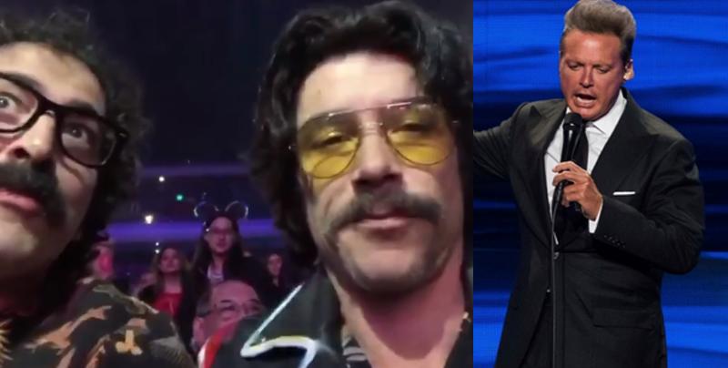 ¿Luisito Rey y Tito asisten al concierto de Luis Miguel?