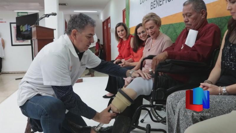 Pacientes del CREE Hermosillo recibieron prótesis