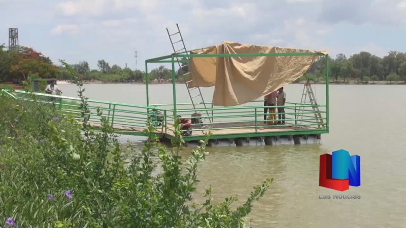 En la Laguna de Obregón reinstalarán el muellecito