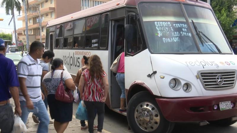 Aplaude la ATUSUM posible incremento al transporte