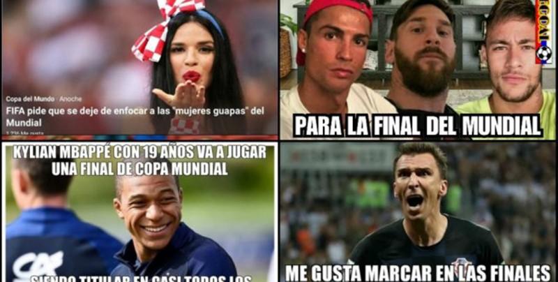 Los mejores memes de la final Francia vs Croacia
