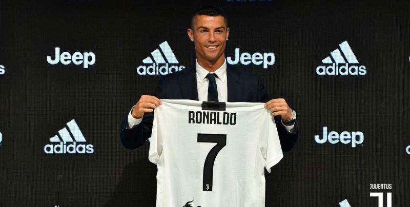 Cristiano Ronaldo llega a la Juventus