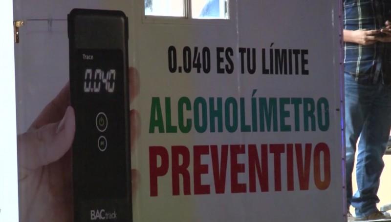 Incrementan un día el Alcoholímtero