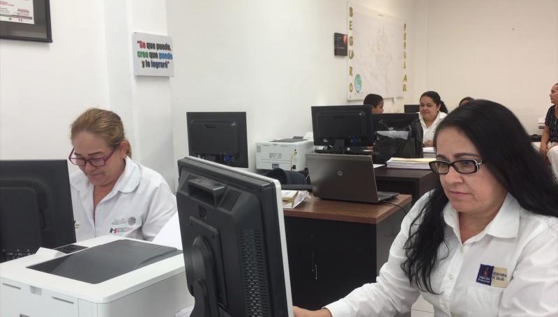 Brigadas del seguro popular a Escuinapa