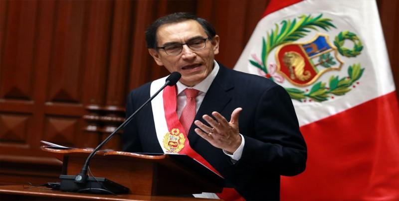 Presidente de Perú convoca al Congreso para destituir Consejo de Magistratura
