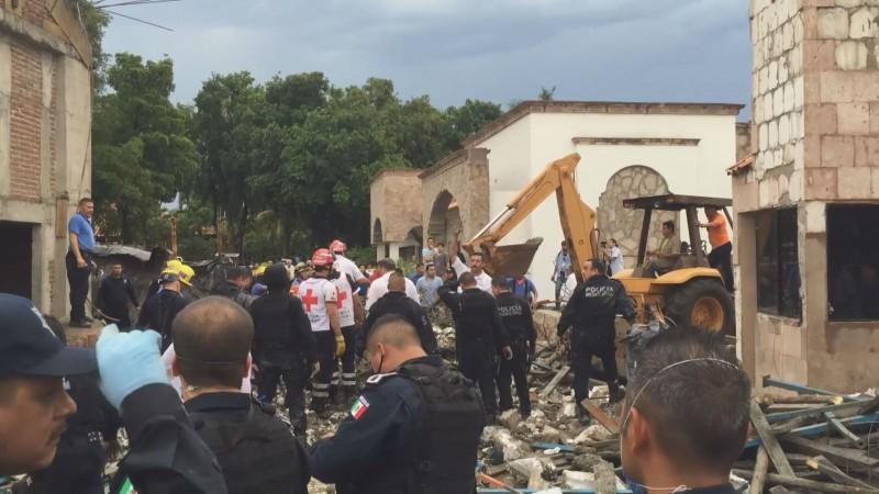 A dos años, sin justicia para familiares de fallecidos en derrumbe de fachada en Culiacán