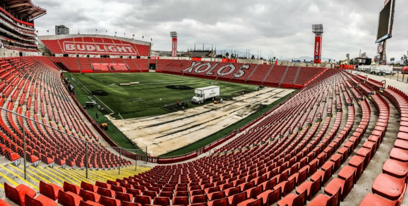 El estadio de Xolos tendra nueva superficie