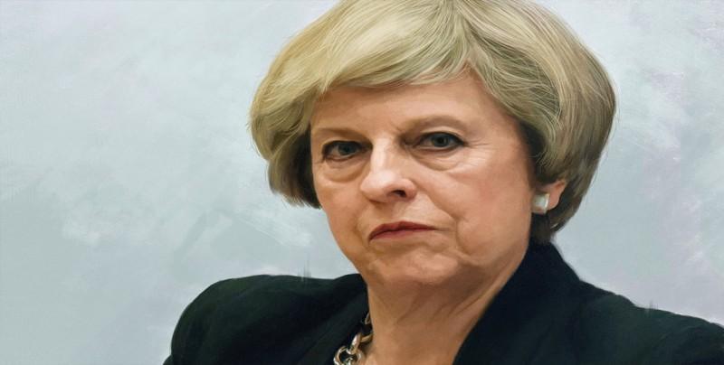 """May no ceja en su empeño de defender su plan para el """"brexit"""""""