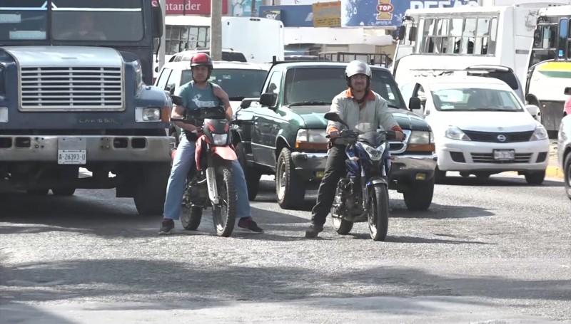 Implementa tránsito operativo para checar a motociclistas