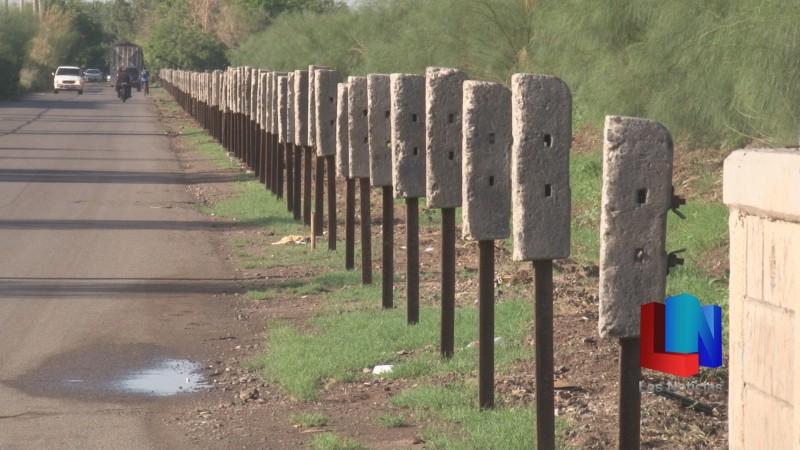 En Cajeme, instalan cerca perimetral en vías del ferrocarril