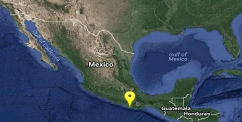 Se registra sismo de magnitud 5.9 en Oaxaca
