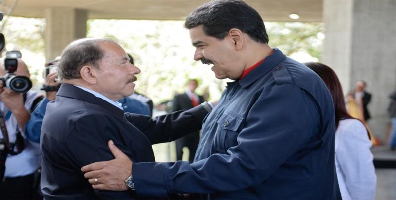 """Maduro dice que Ortega derrotó un plan """"terrorista y golpista"""" en Nicaragua"""