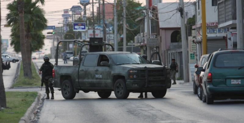 Tres muertos deja tiroteo entre narcos en Tamaulipas