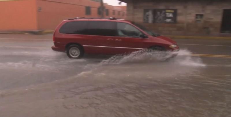 Lluvias irregulares en Sinaloa en la presente temporada