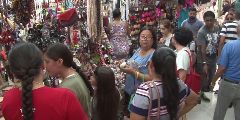 Folklor de mercado Pino Suárez encanta a visitantes
