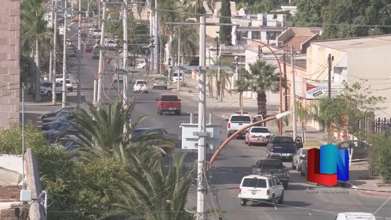 En Navojoa, alcaldesa asegura que investigará paradero de lámparas