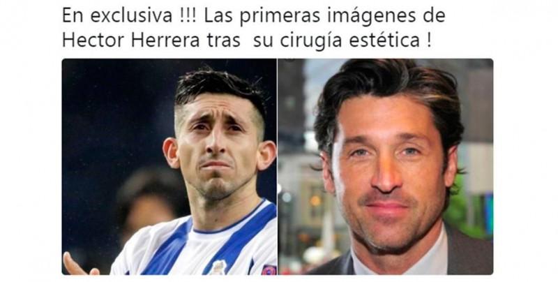 ¡Sin compasión! Desatan ola de memes tras cirugía de Héctor Herrera