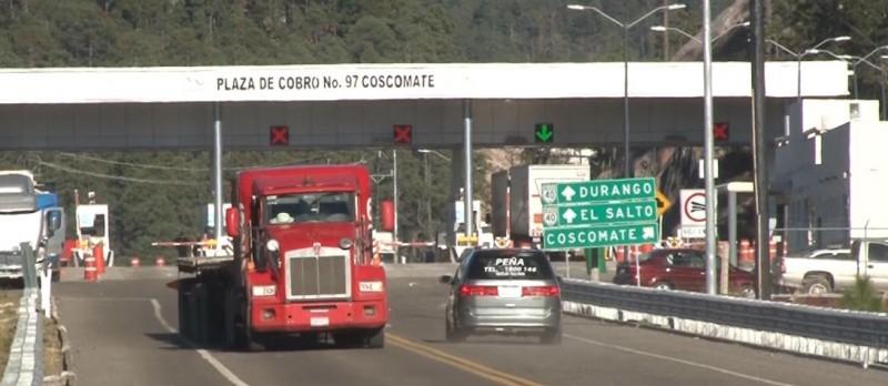 Ligeros retrasos en carretera Mazatlán- Durango