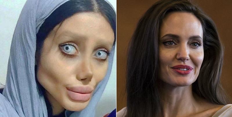 'Jolie zombie' muestra su verdadero rostro