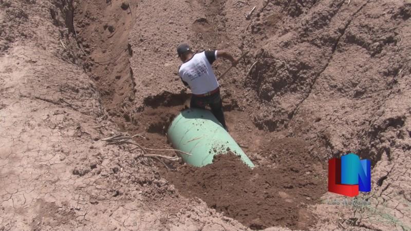 En Bácum indígenas yaquis muestran que gasoducto es inoperante