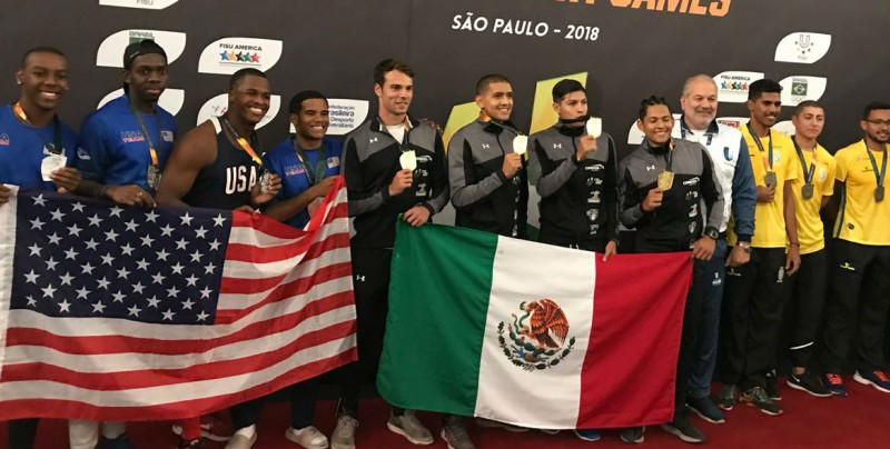 Sinaloenses brillan en Universiada Panamericana