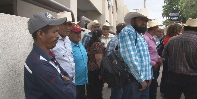 Ejidatarios de Ocoroni reclaman al gobierno federal por incumplimiento de acuerdos
