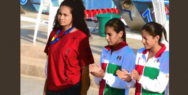 Oro y plata para México en trampolín tres metros femenil