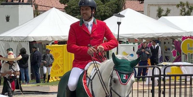 Francisco Pasquel gana oro para México en ecuestre salto individual