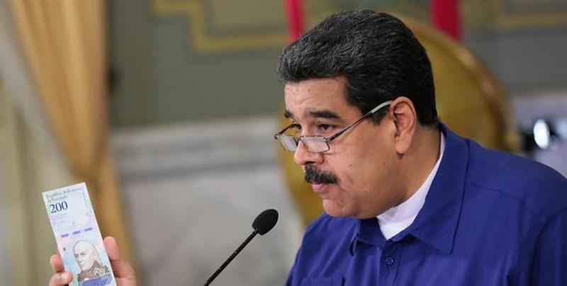 El gobierno de Maduro le quita cinco ceros al bolívar venezolano