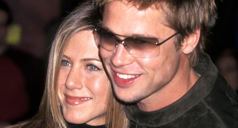 Brad Pitt le roba el look a sus parejas