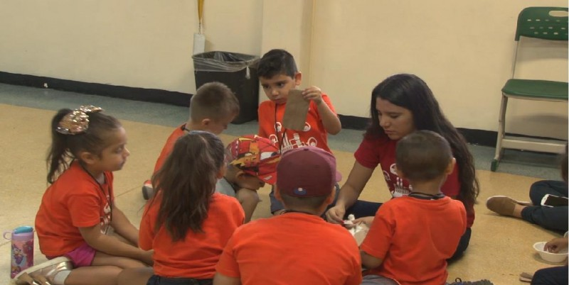 Menores se divierten y aprenden en Campamento de Grupo Alerta