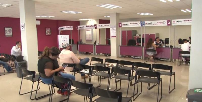 Poca demanda por credenciales de elector en el INE